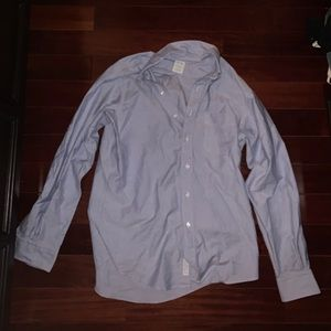 Light Blue Men's Brooks Brothers Dress Shirt